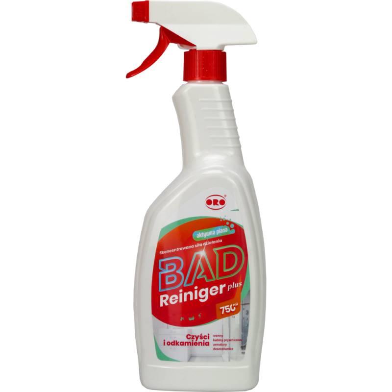 Płyn do mycia łazienek, kab.prysznic. PLUS 750 ml