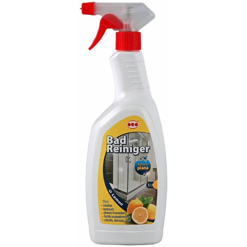 Płyn do mycia łazienek, kab.prysznic, citro,1L