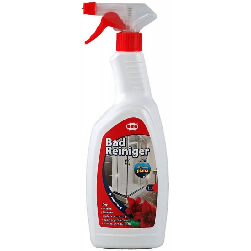 Płyn do mycia łazienek, kab.prysz., kwiatowy,1L