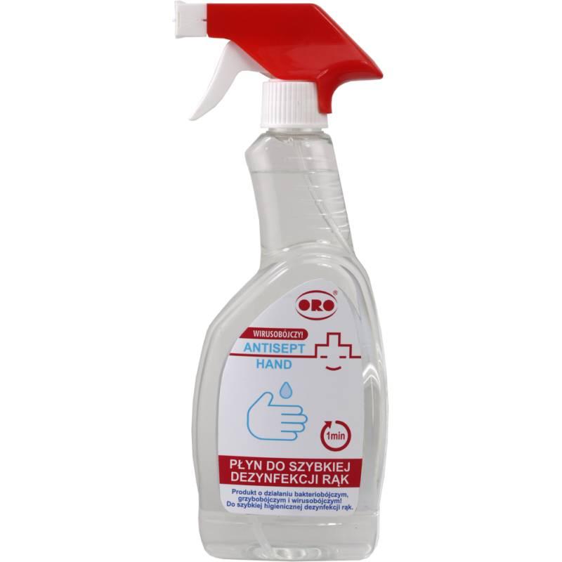 Płyn do szybkiej dezynfekcji rąk, 500 ml