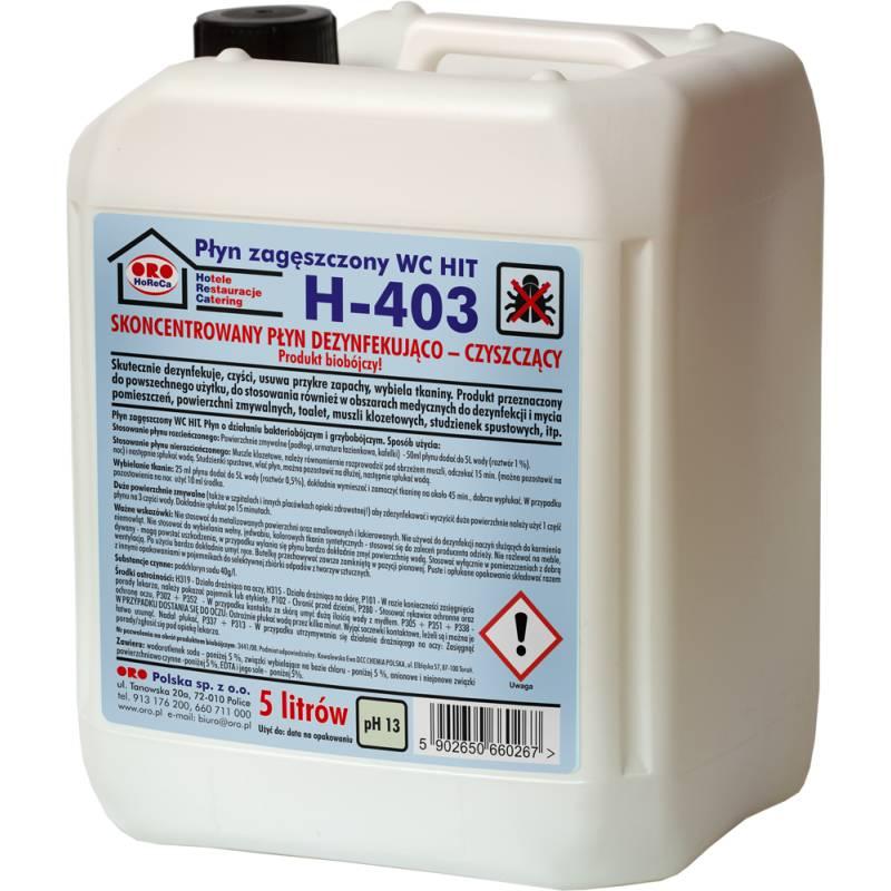 Pł. czyszcz. i dezynfekujący (biobójczy), 5L