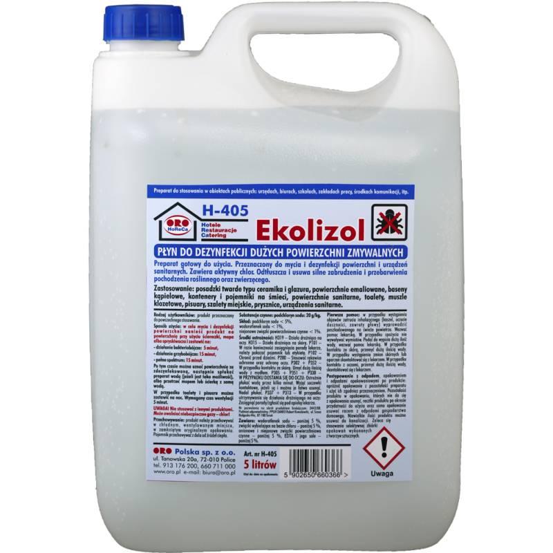 Pł.czyszcząco-dezynfekujący Ekolizol, 5 L